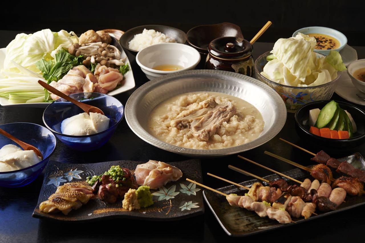 とりいちず 鷺沼店の鶏料理が満喫できるコース